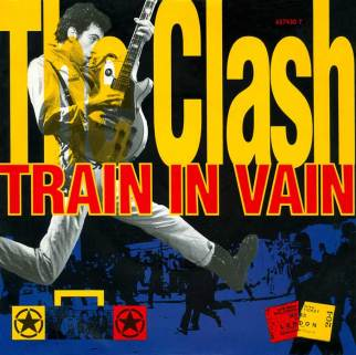 the-clash-train-in-vain-single-cover